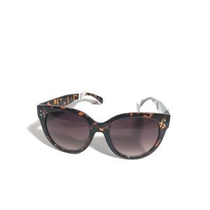 Anthropologie Cat Eye Tortoise Shell Sunglasses